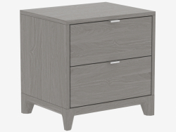 Bedside nightstand CASE (IDC025104000)