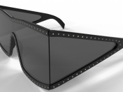 मोशिनो 004 शील्ड चश्मा