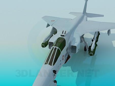 modelo 3D Combate del Jaguar - escuchar