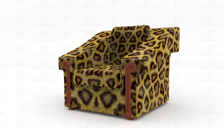 3 डी मॉडल कुर्सी - पूर्वावलोकन