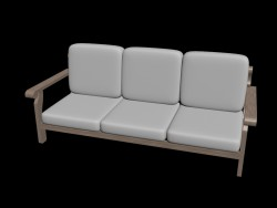 Simple corner couch 1