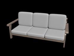 Canapé d'angle simple 1