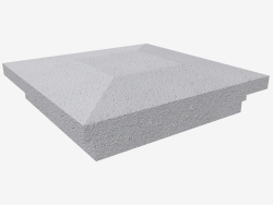 Cubierta en el pilar (LK63F)