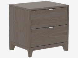 Bedside nightstand CASE (IDC025107000)