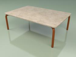 Coffee table 006 (Metal Rust, Farsena Stone)