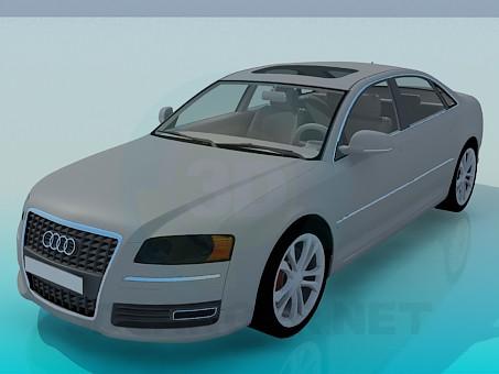 descarga gratuita de 3D modelado modelo Audi A8