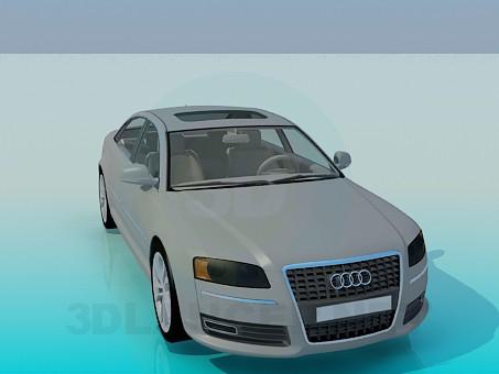 3d model Audi A8 - preview
