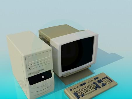 3d модель Комп'ютер – превью