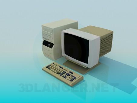 3d модель Компьютер – превью