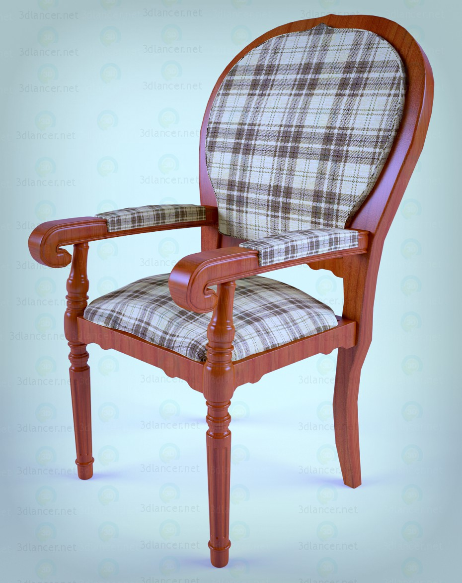 3d model Chair - chair by zeggos - preview