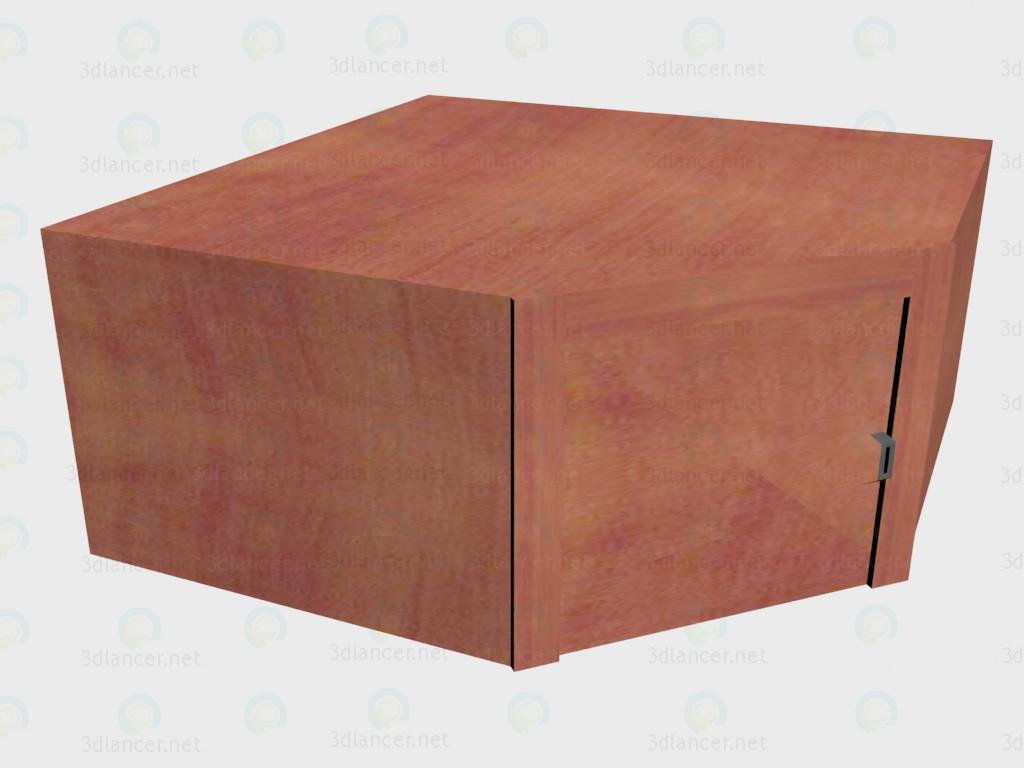 3d модель Надставка на шкаф угловой VOX – превью