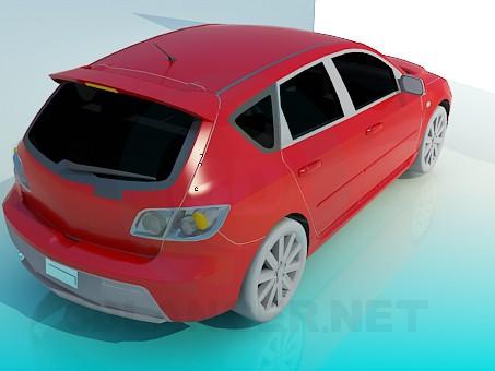 modelo 3D Mazda 3 Hatchback - escuchar