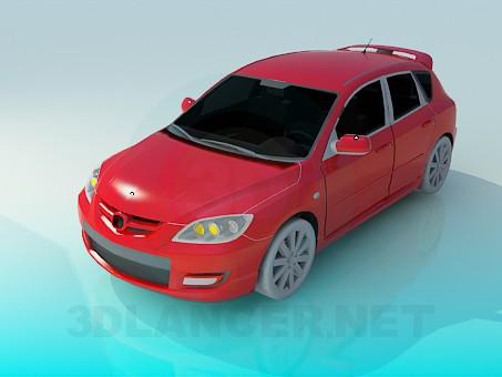 3d модель Mazda 3 Hatchback – превью