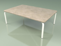 Coffee table 006 (Metal Milk, Farsena Stone)