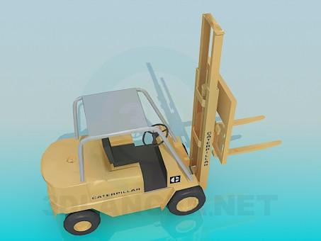 3d модель Автопогрузчик – превью