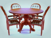 table and chairs by zeggos