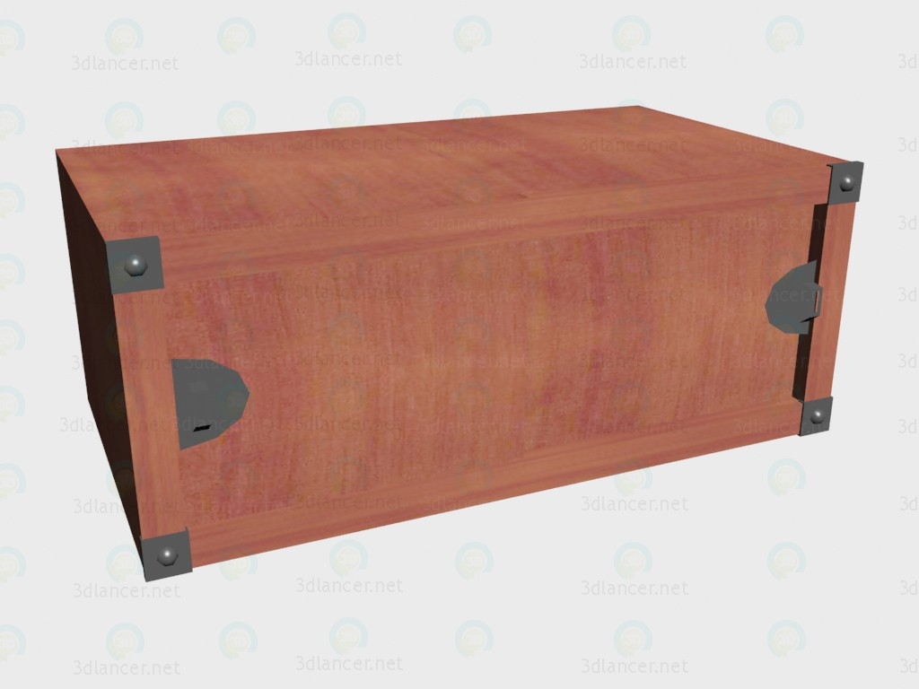 3d model The extension on cabinet with sliding doors VOX - preview