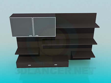 3d model Cabinet - preview