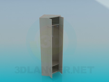3d model Corner cabinet in the hallway - preview