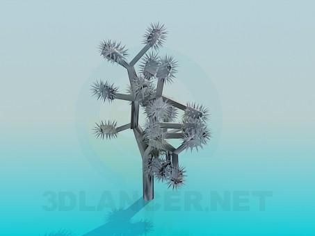 3d модель Колючий вазон – превью