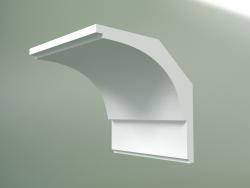 Plaster cornice (ceiling plinth) KT076