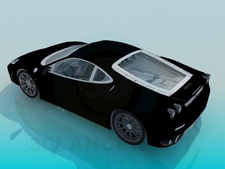 3d модель Ferrari F430 – превью