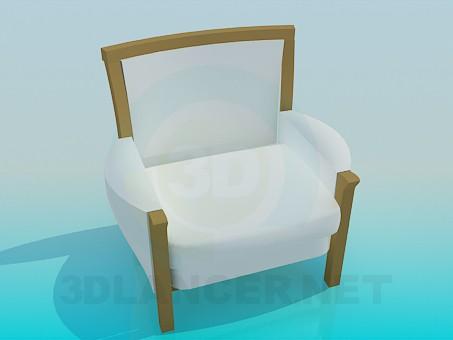 modelo 3D Silla elegante - escuchar