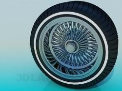 Reifen und Rad