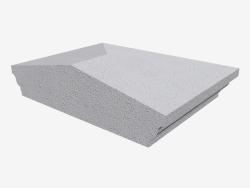 Cubierta en el pilar (LK67L)