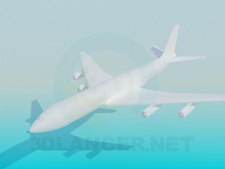 descarga gratuita de 3D modelado modelo Avión