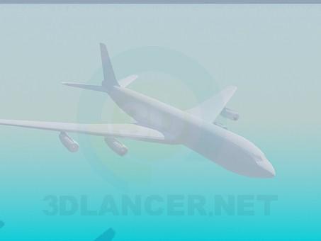 3d модель Самолет – превью