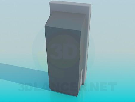 3d model ATM - preview