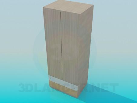 3d моделирование Шкаф модель скачать бесплатно