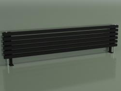 Radiateur horizontal RETTA (6 sections 1800 mm 40x40, noir mat)