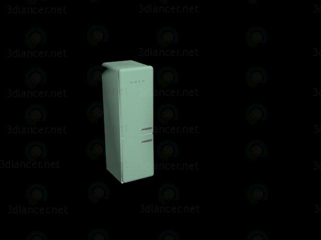 3d модель Холодильник smeg – превью