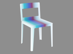 Colored Hole Chair