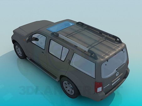 3d model Nissan Pathfinde - preview