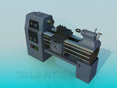 modelo 3D Torno de hierro - escuchar