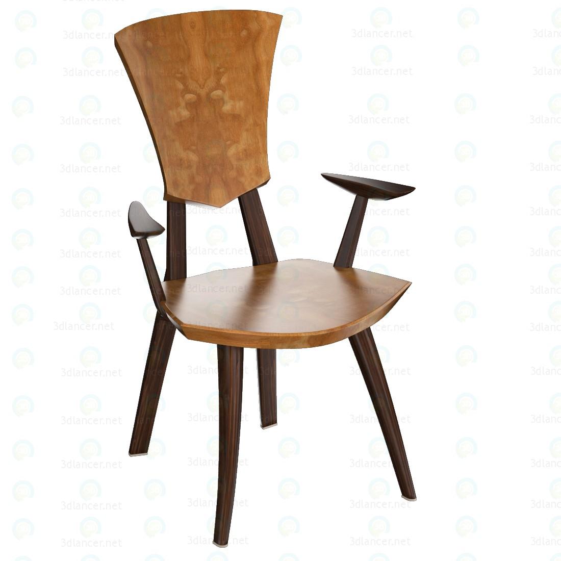 3d Grand Lily Armchair model buy - render