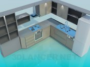 Kitchen High Poly