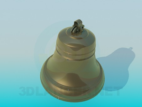 3d model Bell - preview