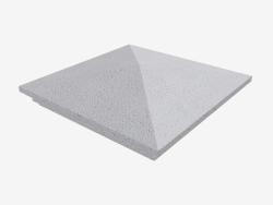 Cubierta en el pilar (LK74G)