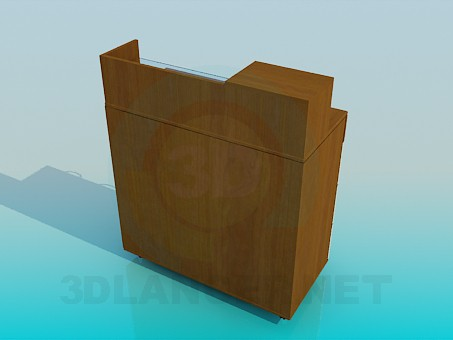 3d model Commode - preview