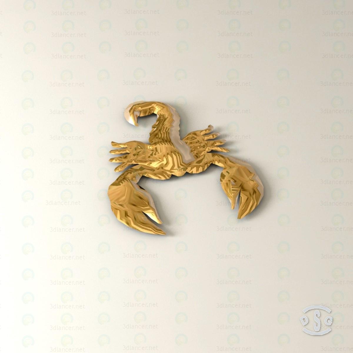 3d модель Скорпион 3D – превью
