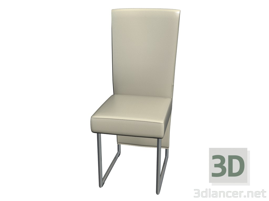 3d model Cantilever chair without armrests 7400 - preview