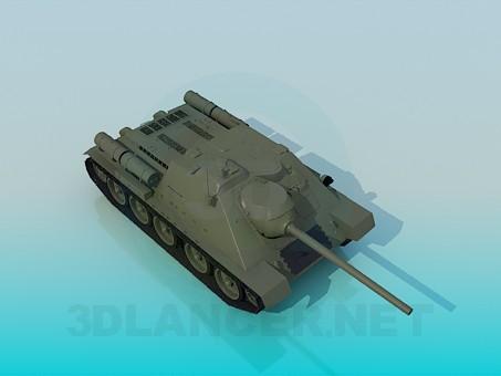 3d модель SU-85 – превью