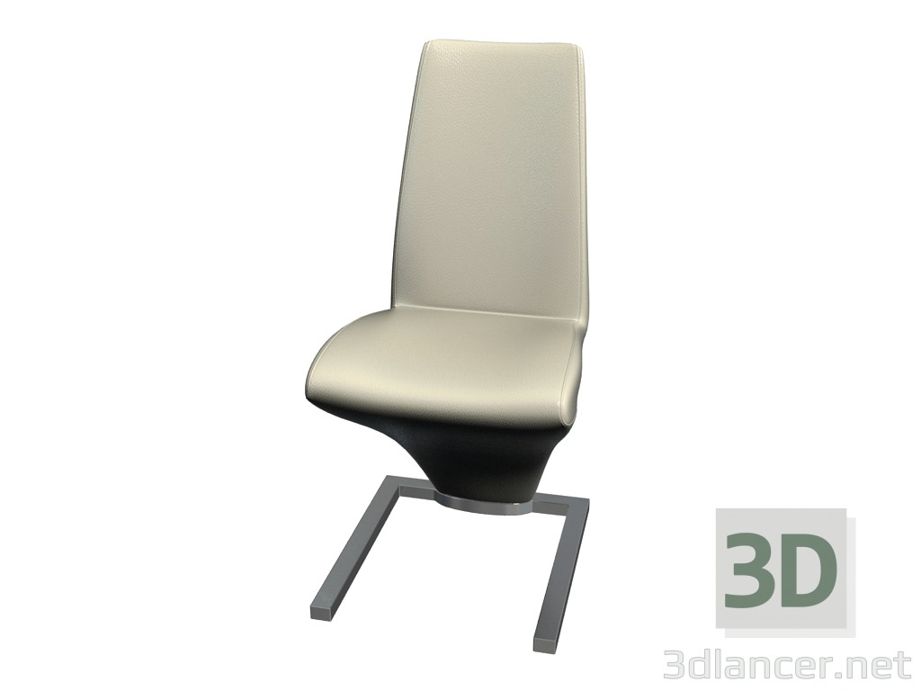 3d model Dining Chair 7800 - preview