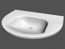 Washbasin semicircular l living r5