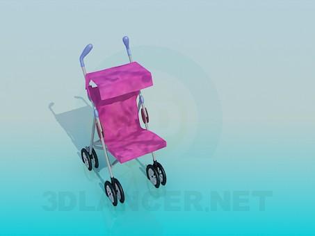 3d модель Коляска детская – превью