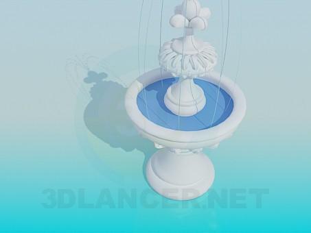 3d модель Фонтан – превью